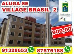 Alugo Apartamento Village Brasil 2 - localizado no TURU, 2 quartos 2 wc - Whats 91328653