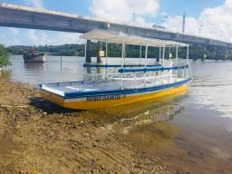 Barco de passeio 15 mil pra vender logo! - 2013
