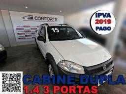 Fiat strada 2015 1.4 mpi working cd 8v flex 3p manual - 2015
