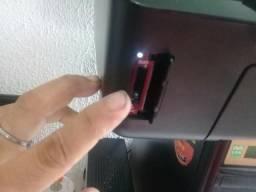 Impressora top de linha jato de tinta wifi touchscreem leia