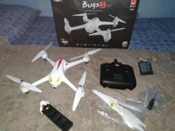 Drone bugs 2 com GPS e motor brusheless novo