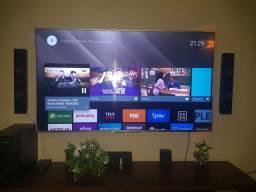 "TV SONY 65"" IMAGEM 4K COM SISTEMA ANDROID"