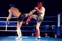 Personal kickboxing muaythai