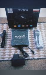 Tvbox 4gb de memória RAM 32gb de memória ROOM