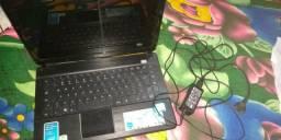 Notebook CCE + Capa ( com defeito)