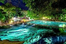 Rio Quente Resorts - Flats - Hospedagem Semana para 2 adultos e 3 crianças até 4 anos