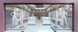 Móveis Planejados para Loja de Roupas - Expositor com Cabideiro, Gôndola e Balcão Caixa comprar usado  Santo André