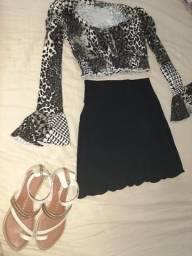 Vestido, cropped, short, calça, conjunto, body