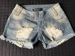 Shorts Jeans Feminino Planet Girls
