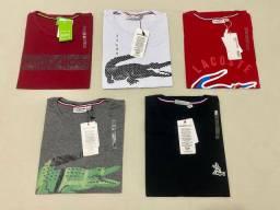 Camisas, bermudas, sapatos, sandálias, cuecas, bonés, carteiras e perfumes importados