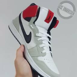 Jordan branco Novo