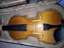 Violino novo, pouco usado com case