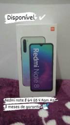 Redmi note 8 64 GB 4 Ram Azul