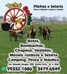 Tchê gaúcho pilchas e selaria Nova Santa