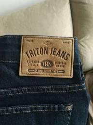 Calça Triton jeans linda nova