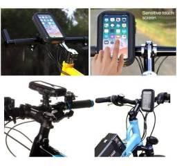 """Suporte de Guidão para Celular e GPS até 6.3"""" para Bicicleta e Moto"""