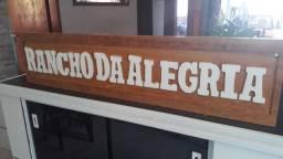 Placa para sítio, chácara, rancho ou Fazenda