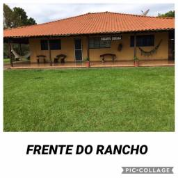 Rancho temporada- Pres. Epitácio/SP às margens do rio Paraná