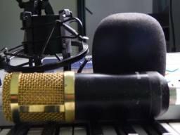 Vendo microfone condensador BM 800