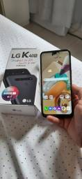 Título do anúncio: Smartphone LG K41S 32GB ( Novo com Nota Fiscal)