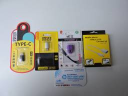 Adaptadores OTG, V8, TIPO C, para USB.