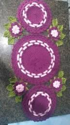 Trabalho com crochê