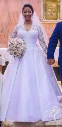 Título do anúncio: Vestido De Noiva, Cristiano Bernandes, Modelo Princesa
