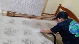 Lavagem a seco e higienização de colchões