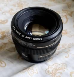Título do anúncio: Canon 50mm 1.4