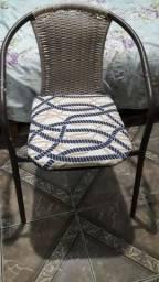 Título do anúncio: Cadeira de ferro com estofado