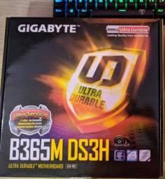 Título do anúncio: Placa mãe Gigabyte B365M 8º e 9º geração Intel