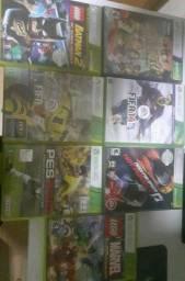 Vendo jogos Xbox 360