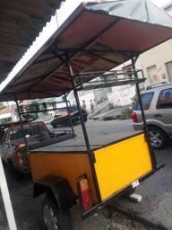 Título do anúncio: Vendo carrinho de lanche