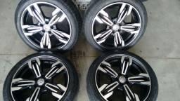 Vendo ou troco Urgente aro 17 pneus Pirelli p7 205/50/17 golf