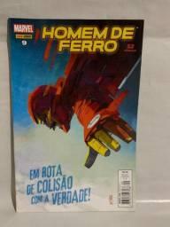 Hq Homem de Ferro N°09 - Em Rota de colisão com a verdade!