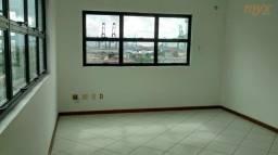 Título do anúncio: Sala para alugar, 35 m² por R$ 1.500,00/mês - Aparecida - Santos/SP