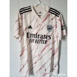 Camisa de time: Arsenal away 20/21