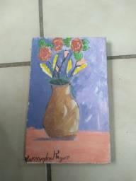 Quadro de vaso 30cm x 15cm
