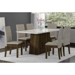 Título do anúncio: Conjunto Mesa de Jantar 6 Cadeiras Elegance