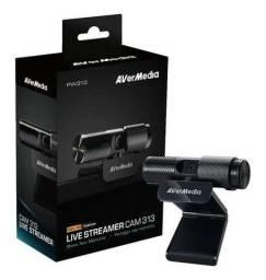 Título do anúncio: Webcam profissional Full Hd 1080p Avermedia Cam 313 Live Streamer novo apenas R$ 450,00