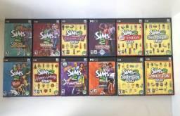 Coleção The Sims 2 (PC) 19 CDS