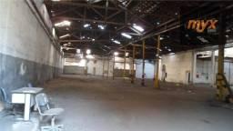 Título do anúncio: Galpão para alugar, 3000 m² por R$ 28.000,00/mês - Centro - Santos/SP