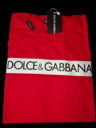 Título do anúncio: Camiseta Básica Dolce e Gabbana Super Confortável  Lançamento
