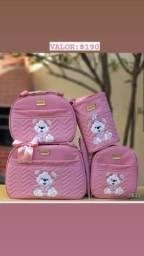 Título do anúncio: Kits de bolsas maternidade 5 peças