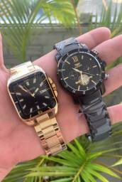 Só relógio top, um mais lindo que o outro.
