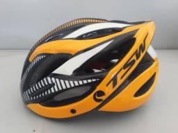 Título do anúncio: Capacete bike TSW com led