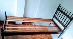 Título do anúncio: Cama solteiro madeira