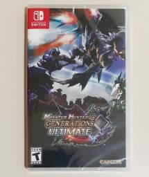 Título do anúncio: Jogo Monster Hunter Generations Ultimate Nintendo Switch Mídia Fisica