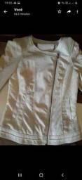 Jaqueta feminina usada veste 38 40