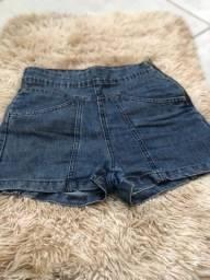Título do anúncio: Short jeans, cintura alta